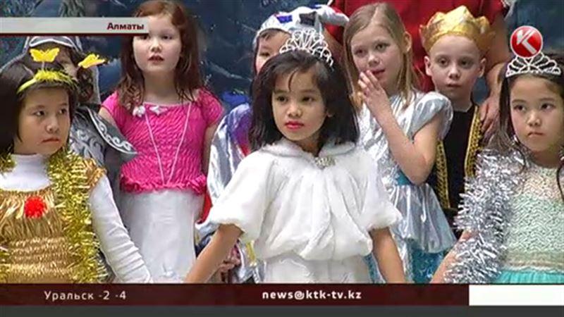 В Алматы исполнили желания 150 особенных малышей
