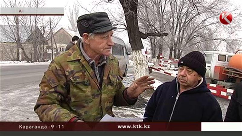 В Алматинской области из-за тарифов негодуют ассенизаторы