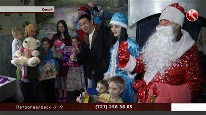 Семейские дети удивили волонтеров