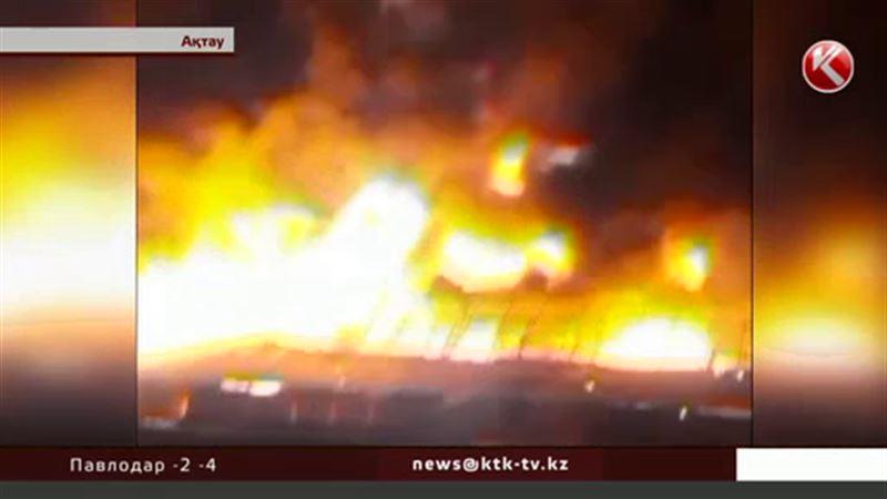 Актауские бизнесмены уверены: рынок в центре города подожгли умышленно