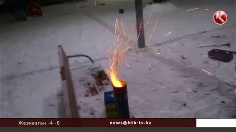 Пострадавшие от бурного празднования Нового года алматинцы остаются в больницах