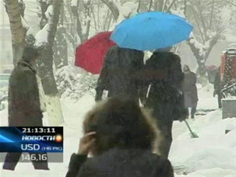 Казахстан вновь во власти морозов