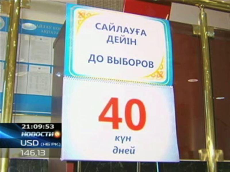 Уже в ближайшие дни стране станут известны имена официальных кандидатов в президенты Казахстана