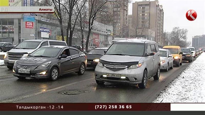 В Алматы не будут пускать старые и грязные автомобили