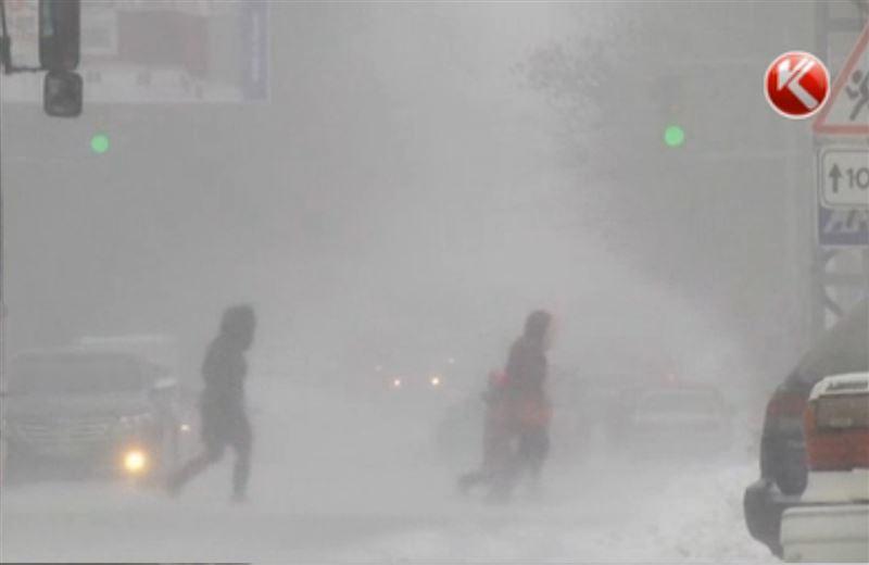 Большой снег накроет весь Казахстан