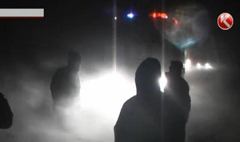 Пять легковушек освободили из «снежного плена» под Павлодаром
