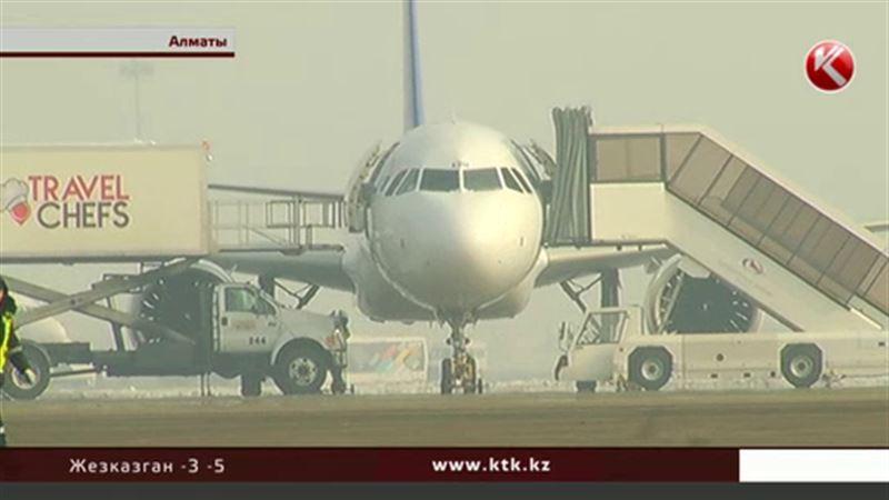 Аэропорт Алматы опустел из-за недостаточной подготовки пилотов