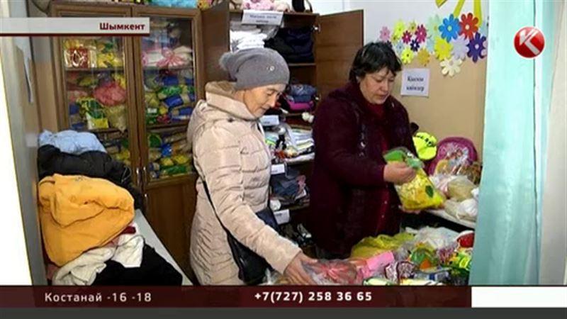 В Шымкенте открылись магазины, где все отдают за спасибо