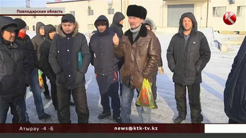 Работники Ерментауского кирпичного завода хоронят родных в долг