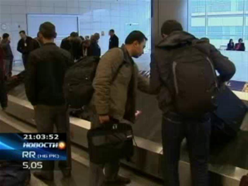 Казахстанцы возвращаются из Ливии