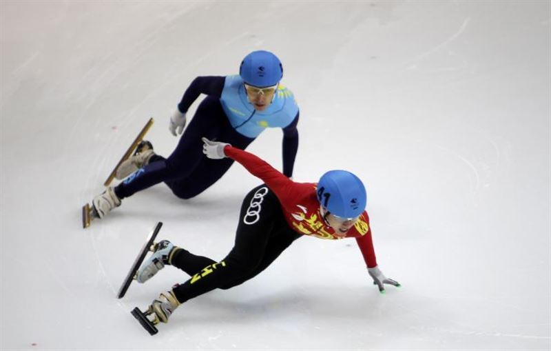 Казахстанские шорт-трекисты завоевали «серебро» и «бронзу»