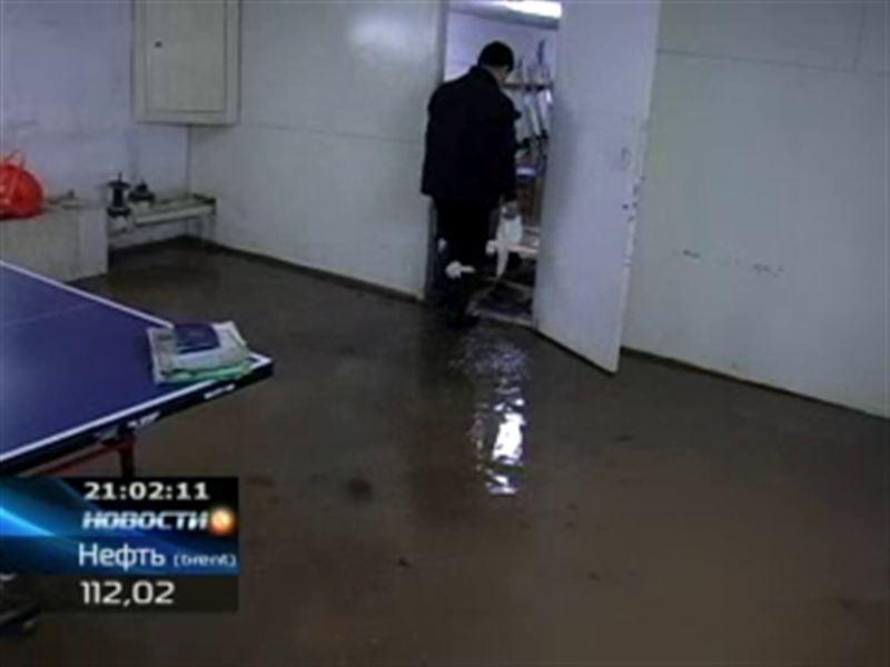 Кокшетау затопило уже в третий раз за эту зиму