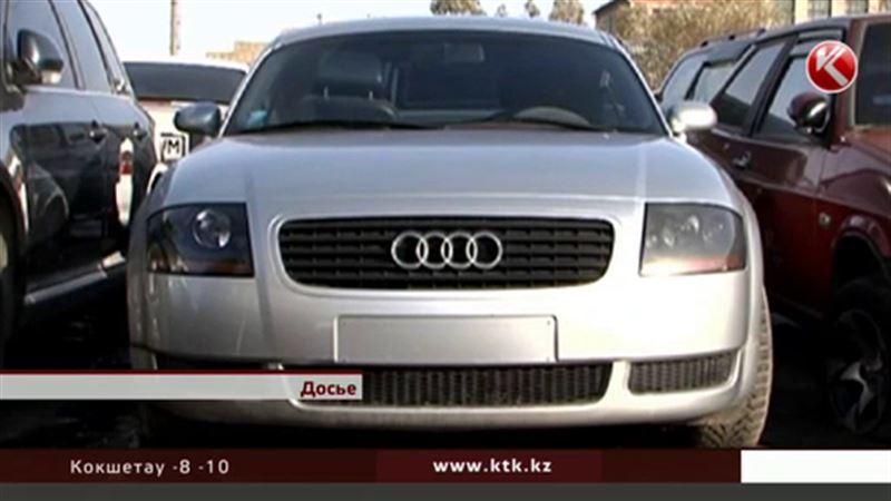 Машину Тимати планируют продать в СКО не менее чем за миллион тенге