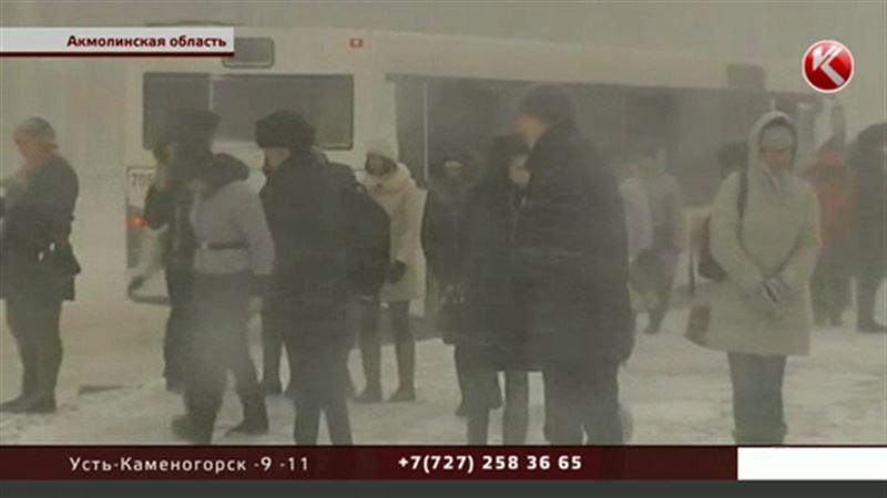 Сильными снегопадами пугает Казгидромет
