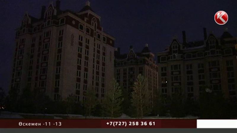 Астанада ашкөз ұрылар бірнеше элиталық тұрғын үй  кешенін жарықсыз қалдырды