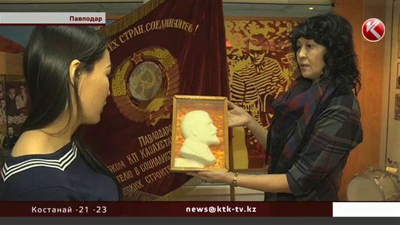 Голова Ленина в павлодарском музее оказалась сахарной