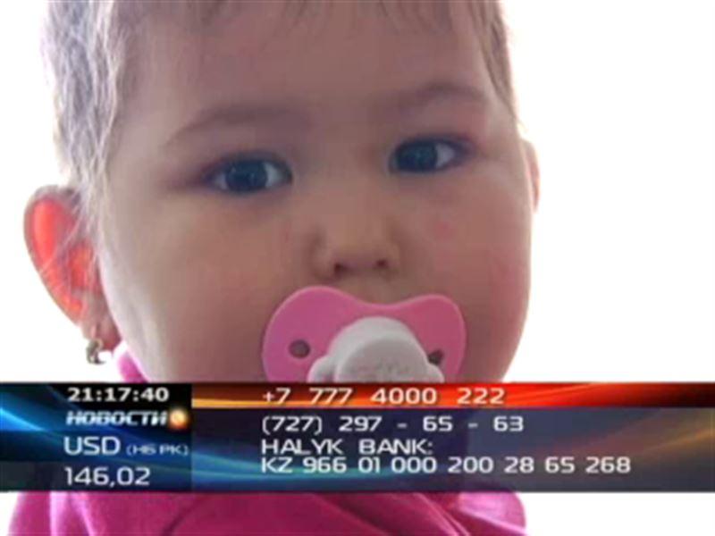 Двухлетней Алине Моисейченко нужна помощь