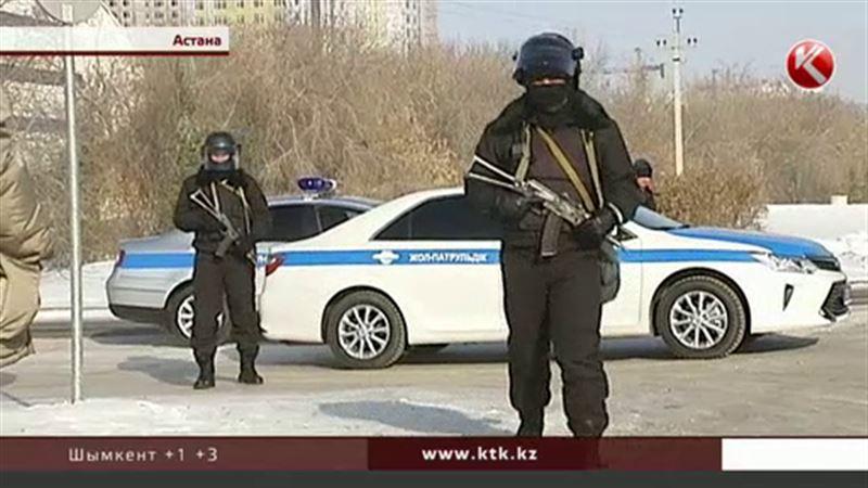 Полицейские заблокировали столичный стадион