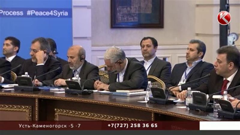 В Астане стартовал второй раунд сирийских переговоров