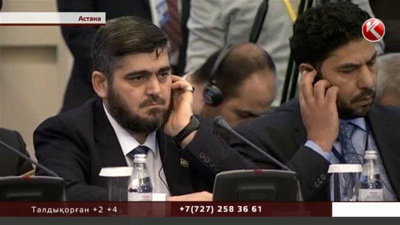 Астанада Сирияға қатысты өткен келіссөздер енді Женевада жалғасатын болды