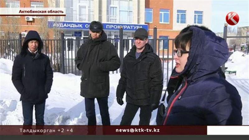 Рабочие, которые строили шахту в Актюбинской области, не могут получить зарплату