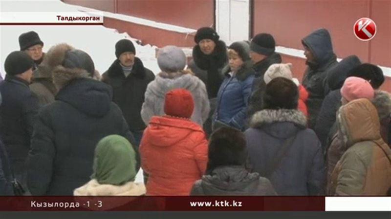 Талдыкорганские торговцы отказываются платить за аренду