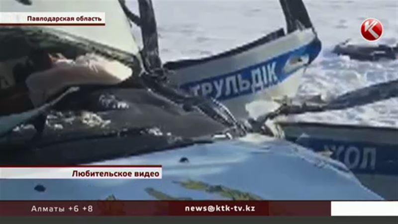 Павлодарские полицейские, рискуя жизнью, спасли 18 детей