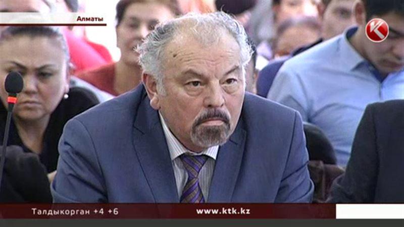 Тунгышбай Жаманкулов в главной роли на скамье подсудимых