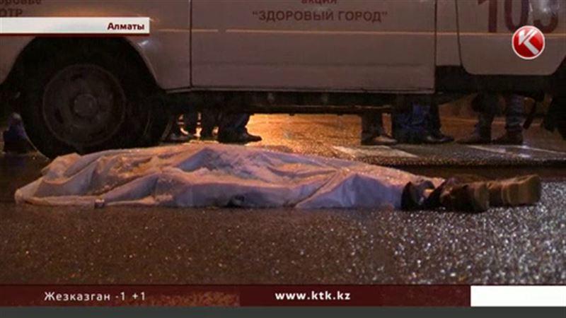 Алматинского школьника сначала сбила одна машина, а потом переехало такси