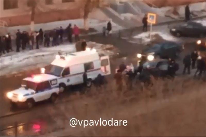 Школьника сбили на пешеходном переходе в Павлодаре