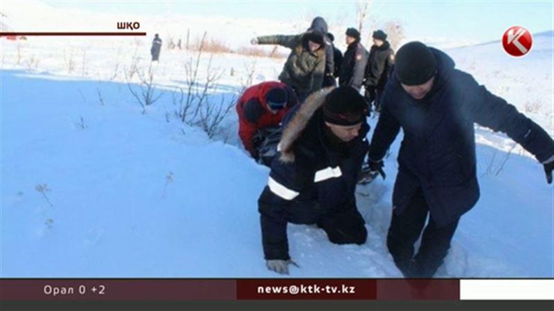 Шығыс Қазақстан облысының құтқарушылары тікұшақ құлаған жердің суреттерін жариялады