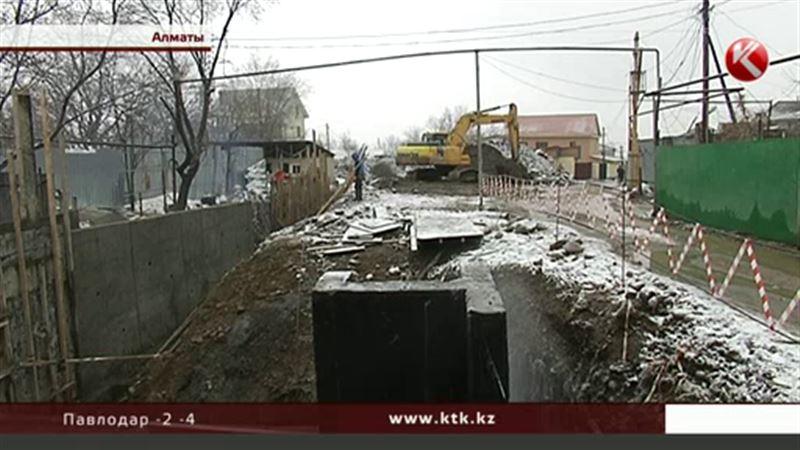 После селя для алматинских дачников разрушительной силой стали строители