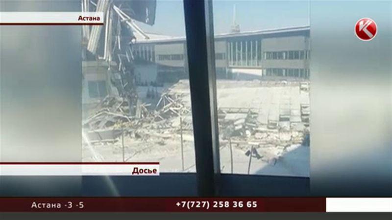 В МВД рассказали, почему на объекте ЭКСПО обрушились тонны бетона и металла