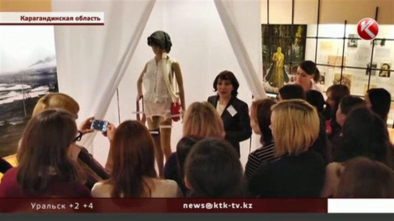 Майкап 40-х представили в музее Темиртау