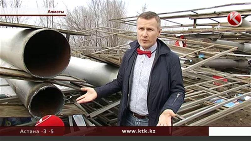 Алматинские рекламщики заявляют об уничтожении их бизнеса и хотят провести митинг