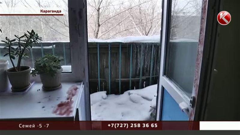 ЭКСКЛЮЗИВ: Репортерам КТК показали квартиру, где 8 марта карагандинец убил мать-пенсионерку