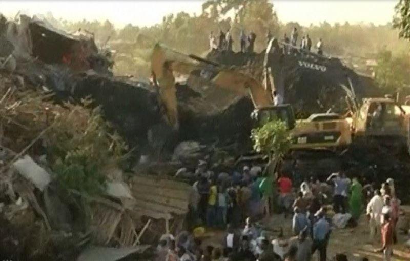 Оползень на свалке в Эфиопии накрыл жилые дома и здания