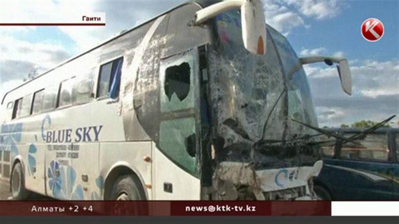 Гаитиде ірі жол апатынан 40 адам қаза тапты