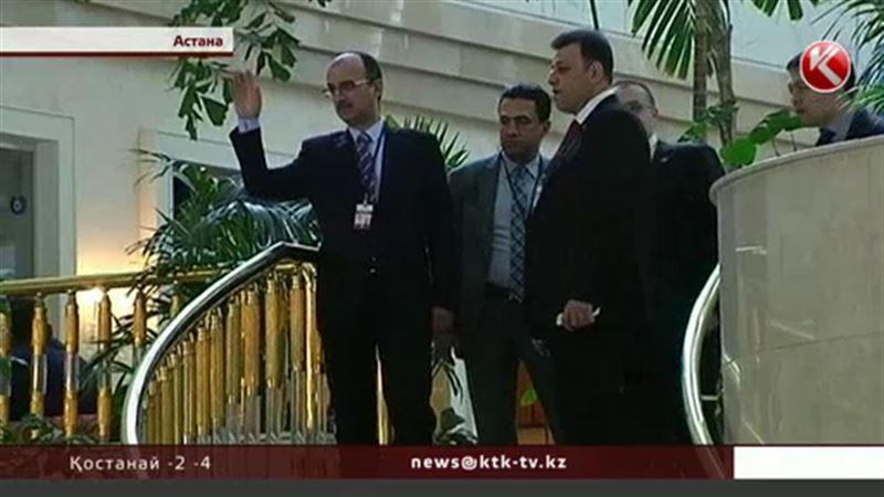 Астанаға Сирияның оппозиция өкілдері келмей қалды