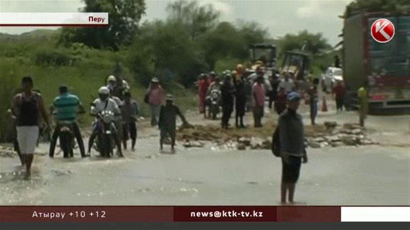 В Перу вода уничтожила сотни домов, есть жертвы