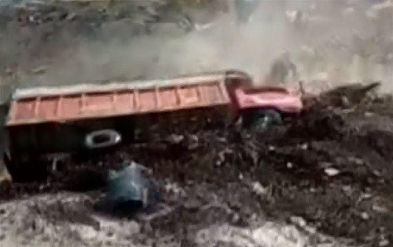 Водитель смытого селем грузовика чудом выжил в Перу