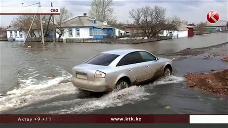 Большую воду ждут практически во всех регионах Казахстана