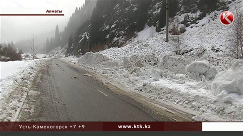 Под Алматы закрыты проезды на горнолыжные курорты – сходят лавины