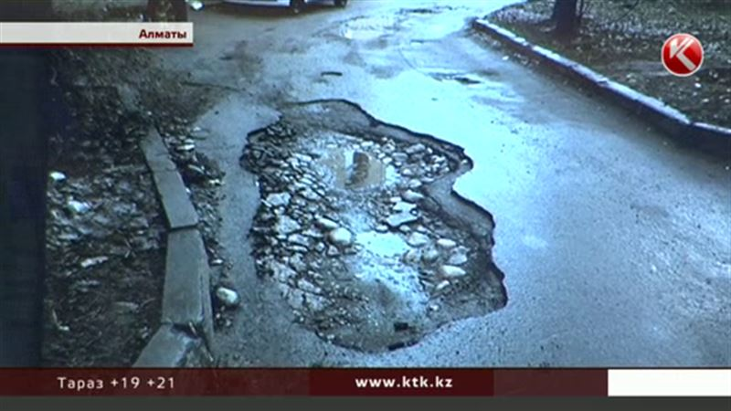 Алматы покраснел: общественники составили интерактивную карту разбитых дорог