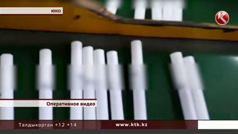 В Южном Казахстане ликвидировали подпольную табачную фабрику