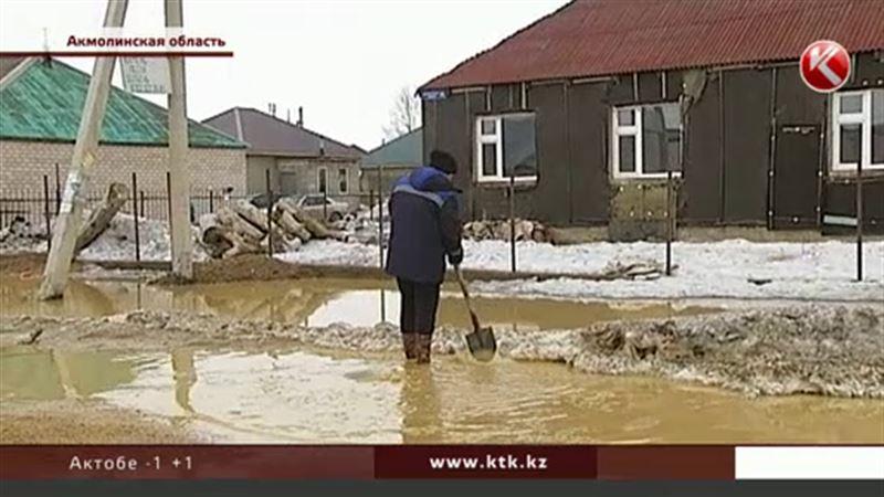 Окраина Астаны с пригородами уходит под воду