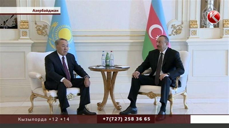 Нурсултана Назарбаева наградили орденом имени Гейдара Алиева