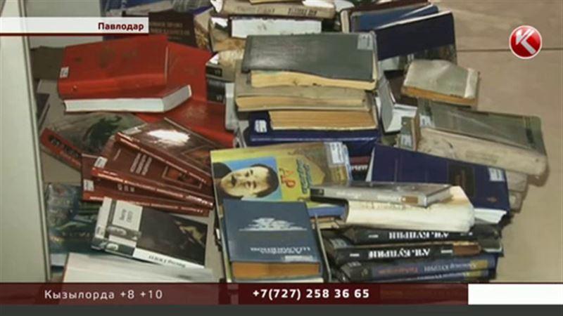 Из-за лопнувшей трубы павлодарские книголюбы лишились двух тысяч книг