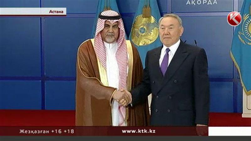 Сауд Арабиясының королі Назарбаевқа тосын сый жасады