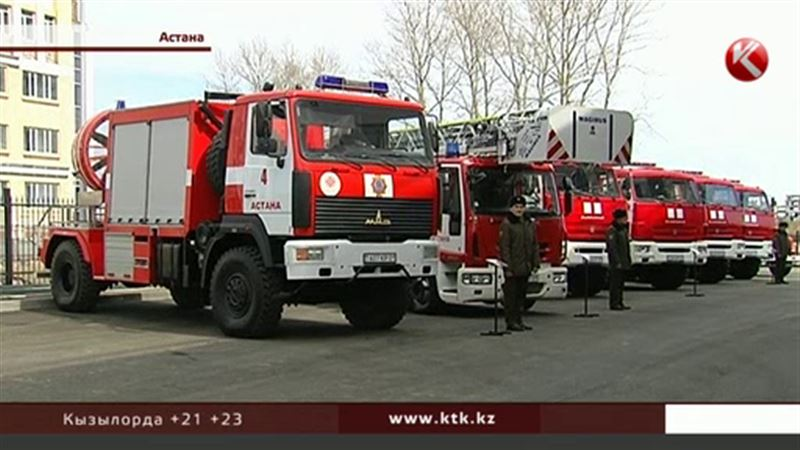 В ЭКСПО-городке будет своя пожарная часть
